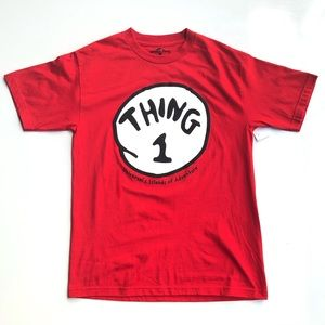 Thing 1 Thing 2 Universal Red Graphic Tee